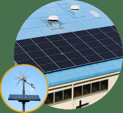 太陽光・風力発電